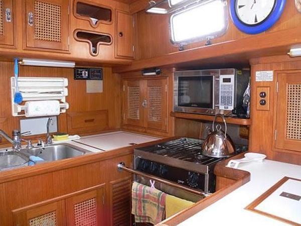 Celestial 50 - Galley Looking Aft