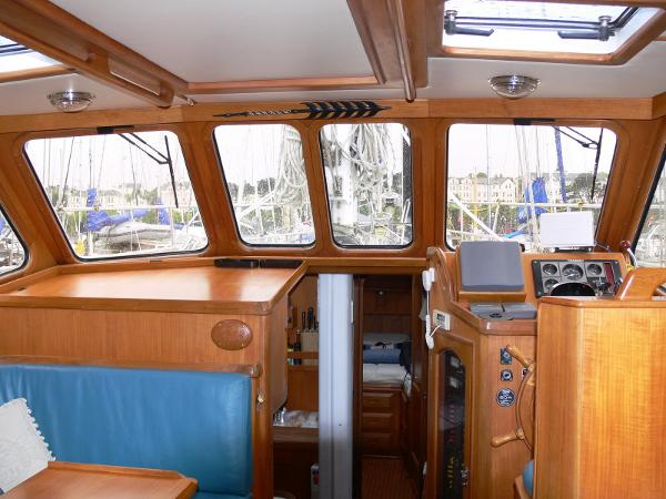 Celestial 50 - Pilothouse View