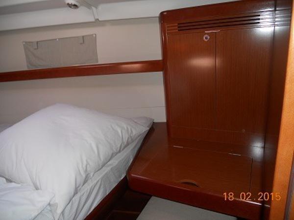 Lengthened berth