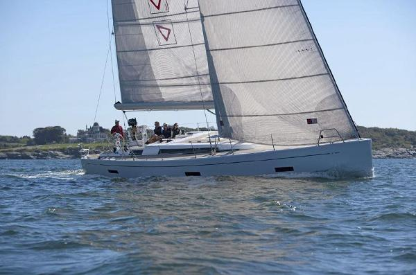 Grand Soleil 54 Sailing off Newport