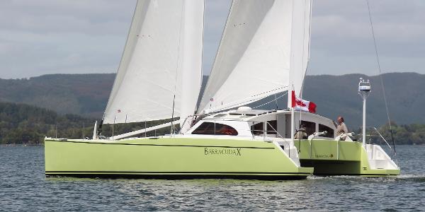 Chris White Designs Atlantic 47 MastFoil rig, patented