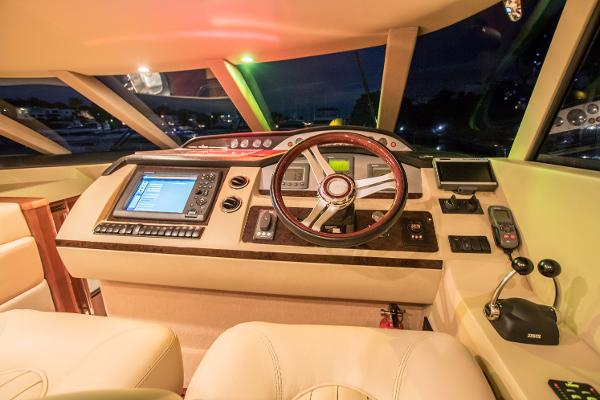 Princess 58 Lower Helm Console