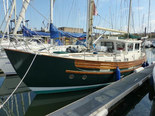 Fisher 34  Fisher 34 home berth