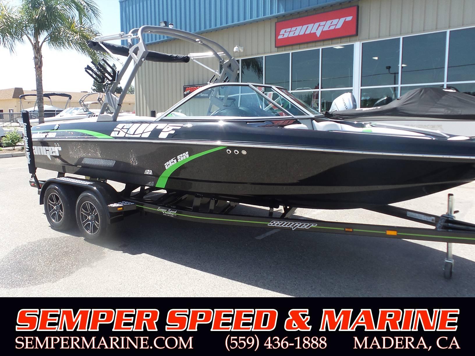 Sanger Boats V215 SX