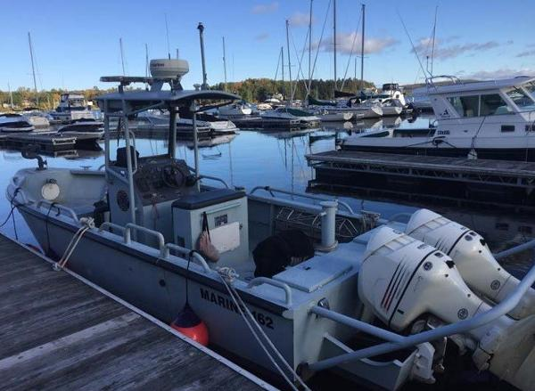 Commercial Hike 27' Patrol Boat w/Trailer