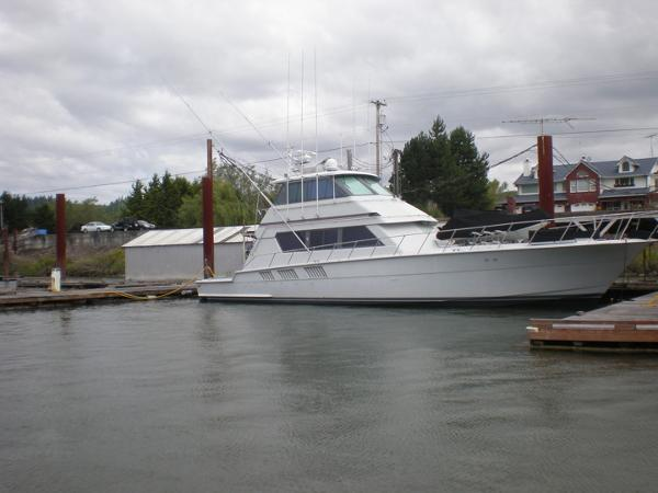 Hatteras 65 Convertible Profile