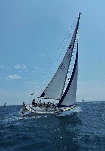 Bavaria Ocean 38 CC Starboard profile