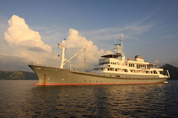 Custom Expedition Charter Yacht Salila Profile