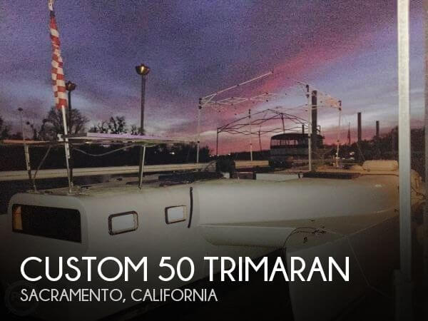 Custom-craft 50 Trimaran 1981 Custom 50 Trimaran for sale in Sacramento, CA