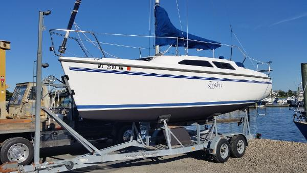 Catalina 250 Wing Clean Trailer, Ready