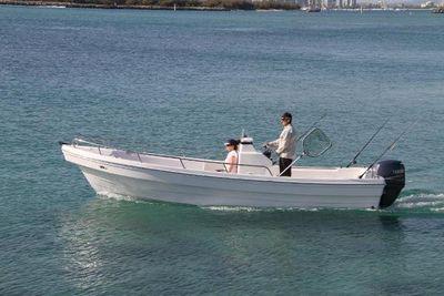 New Cruiser Yachts 22ft D fishing -cruising