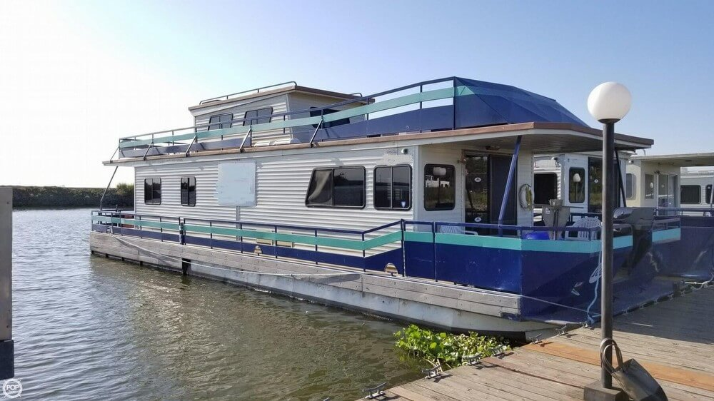 Pacific Boats 56 Houseboat 1996 Pacific 56 Houseboat for sale in Stockton, CA