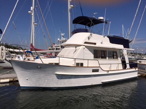 Island Gypsy Europa Trawler In Her Slip