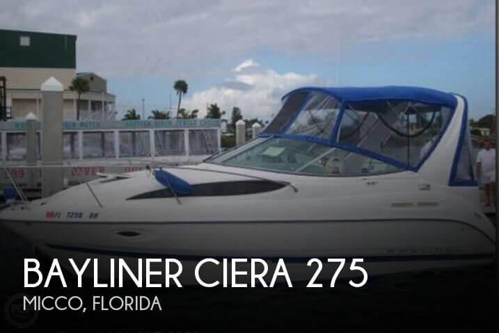Bayliner ciera 275 2006 Bayliner Ciera 275 for sale in Micco, FL