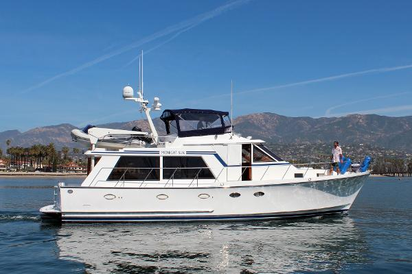"Ocean Alexander Pilothouse MKII Ocean Alexander Pilothouse ""Midnight Sun"""