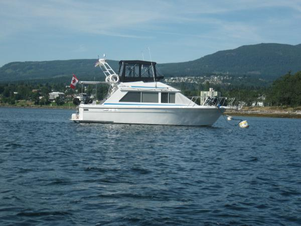Olympic 33 Motor Yacht Starboard Side