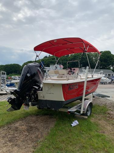 Carolina Skiff 178 DLV Runs Like New, Trade In, For Sale Carolina Skiff Center Console Used with EFI Four Stroke Power and Trailer