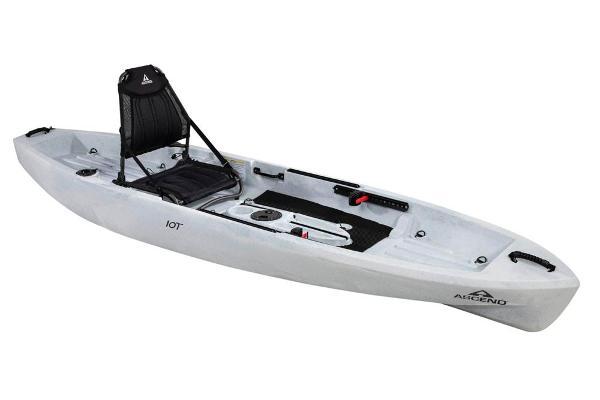 Ascend 10T Sit-On - White-Black Manufacturer Provided Image
