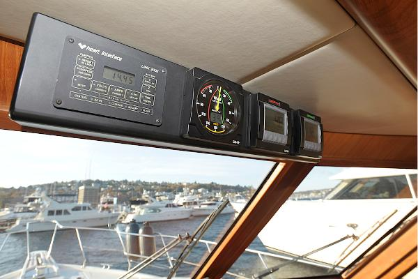 Pilothouse Overhead Instruments