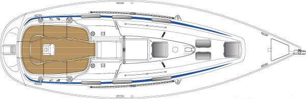 Bavaria 36cruiser Manufacturer Provided Image: Deck