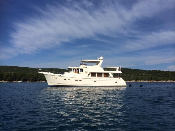 Selene 59 At anchor