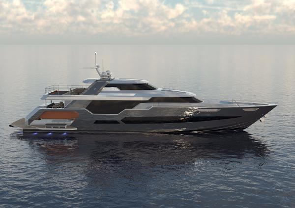 Pachoud Yachts 120' LOMOcean Motor Yacht Manufacturer Provided Image: Pachoud Yachts 120' LOMOcean Motor Yacht