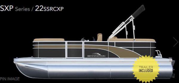 Bennington 21 SSRCX TRIPLE TOON