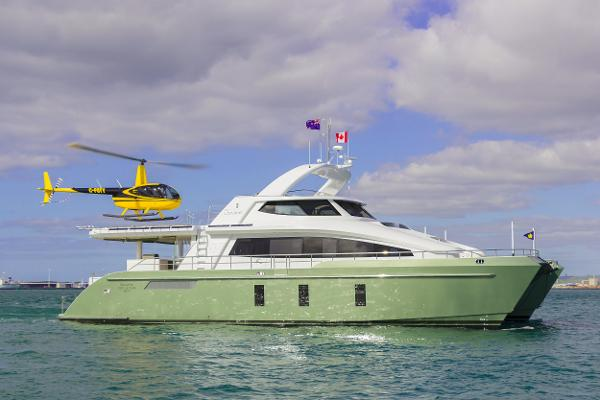 Pachoud Yachts 24m Exploration HeliCat