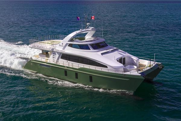 Pachoud Yachts 24m Exploration HeliCat Manufacturer Provided Image: Pachoud Yachts 24m Exploration HeliCat