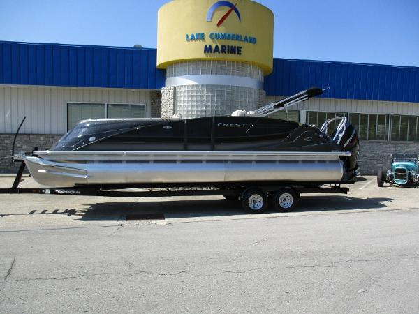 Crest Pontoon Boats Savannah 250 NX SLR2