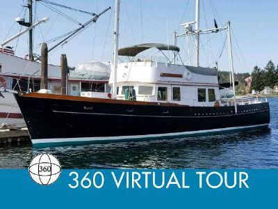 Alden Custom 57 Trawler Ketch Rigged Main