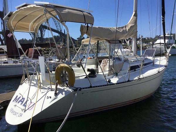 C&C 37/40 At The Dock, Starboard Aft Quarter