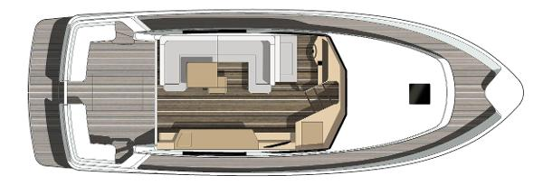 Manufacturer Provided Image: Hardy 40 DS Lower Deck Layout Plan
