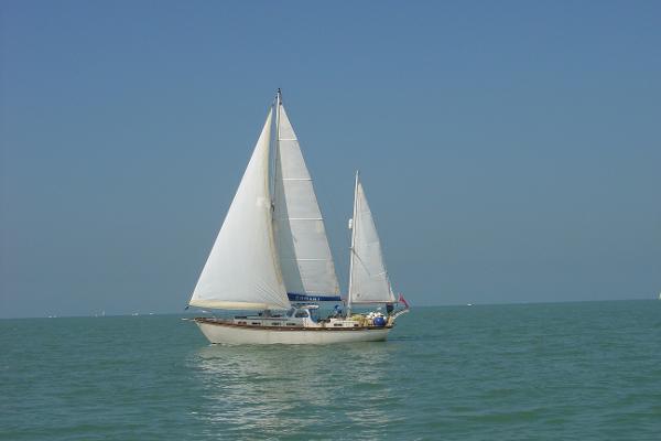 Atlantic Ketch Atlantic Ketch - Under Sail