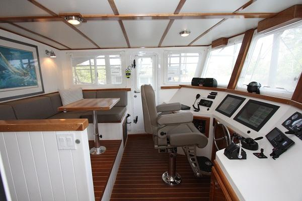 Pilothouse Port Side