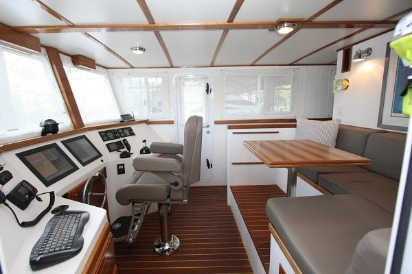 Pilothouse Starboard Side