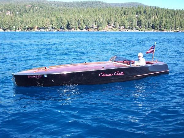 Classic Craft 20' Gentleman's Racer Port Profile
