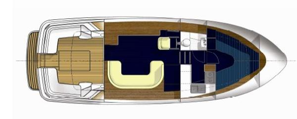 Manufacturer Provided Image: Hardy 36 Sedan Lower Deck Layout Plan