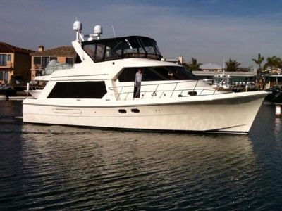 Hampton 490 Pilothouse Starboard Profile