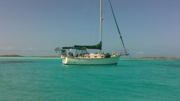 Island Packet 31 Cutter In the Bahamas!!