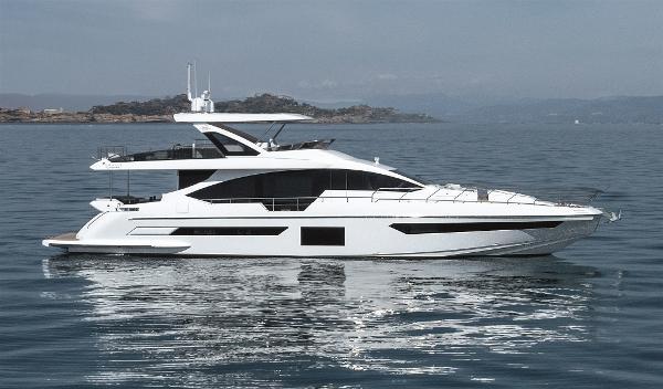 Azimut GRANDE 25 METRI V Marine Azimut 25 MT Grande Sister Yacht