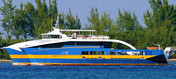 Custom Catamaran Ferry