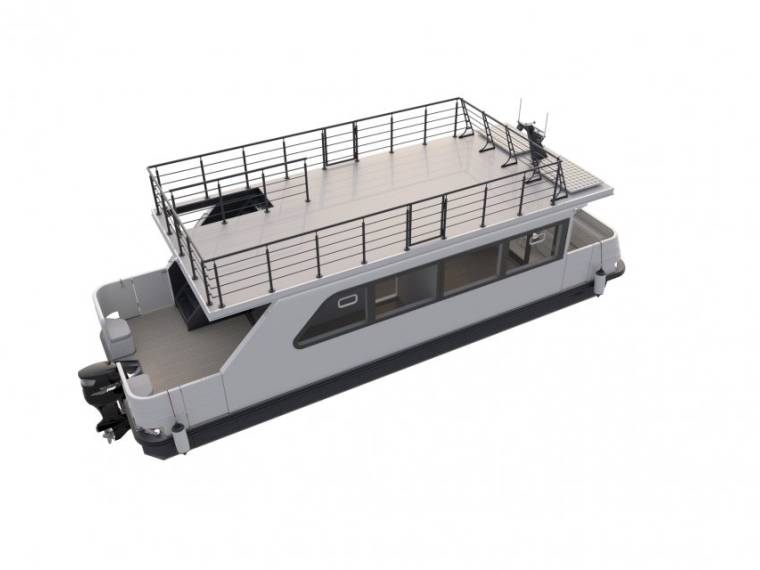 Relax Boat Poseidon 107 Houseboat