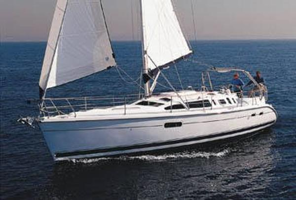 Hunter 410 High Maintenance sister ship