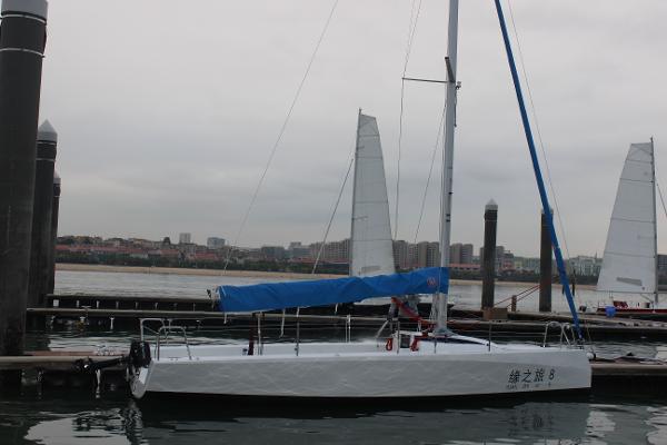 New Cruiser Yachts FT 8M Sailing