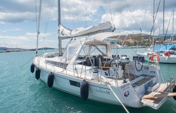 Beneteau Oceanis 48 cockpit oceanis 48