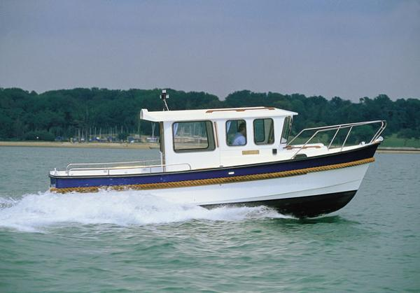 Windboats Hardy Fishing 24 Manufacturer Provided Image: Hardy Fishing 24