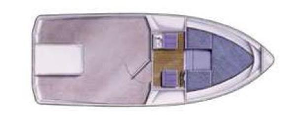 Manufacturer Provided Image: Hardy Fishing 24 Standard Wheelhouse Layout Plan