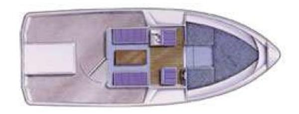 Manufacturer Provided Image: Hardy Fishing 24 Long Wheelhouse Layout Plan