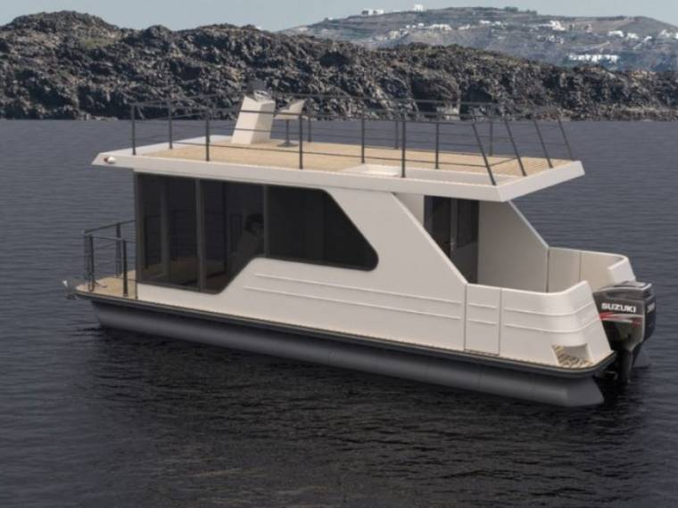 Relax Boat Mini Aphrodite 90 Houseboat